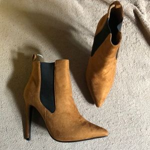 Shoes - Suede Booties Size 5